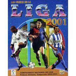 Colección Mundicromo Las Fichas De La Liga 2001