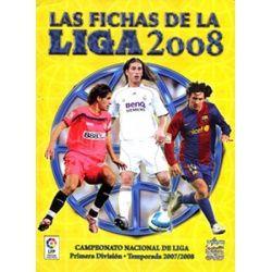Colección Mundicromo Las Fichas De La Liga 2008 Platinum
