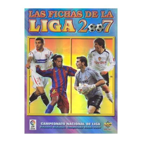 Collection Mundicromo Las Fichas De La Liga 2007