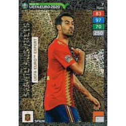 Sergio Busquets Expert 7 Adrenalyn XL Road To Uefa Euro 2020