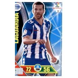 Laguardia Alavés 3Adrenalyn XL La Liga 2016-17