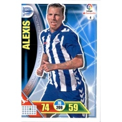 Alexis Alavés 4Adrenalyn XL La Liga 2016-17