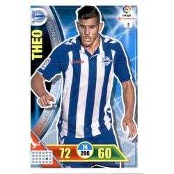 Theo Alavés 5Adrenalyn XL La Liga 2016-17