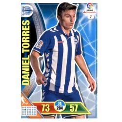 Daniel Torres Alavés 7Adrenalyn XL La Liga 2016-17