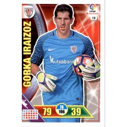Gorka Iraizoz Athletic Club 19 Adrenalyn XL La Liga 2016-17