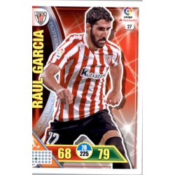 Raúl García Athletic Club 27 Adrenalyn XL La Liga 2016-17