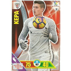 Kepa Athletic Club 30 Adrenalyn XL La Liga 2016-17