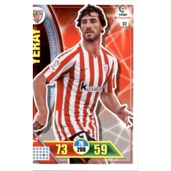 Yeray Athletic Club 32 Adrenalyn XL La Liga 2016-17