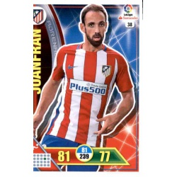 Juanfran Atlético Madrid 38 Adrenalyn XL La Liga 2016-17