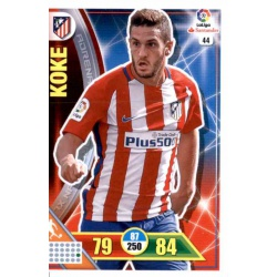 Koke Atlético Madrid 44 Adrenalyn XL La Liga 2016-17