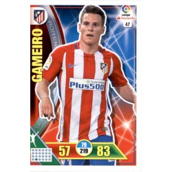 Gameiro Atlético Madrid 47 Adrenalyn XL La Liga 2016-17