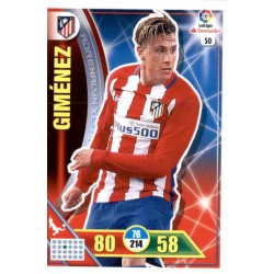 Giménez Atlético Madrid 50 Adrenalyn XL La Liga 2016-17