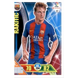 Rakitic Barcelona 61 Adrenalyn XL La Liga 2016-17