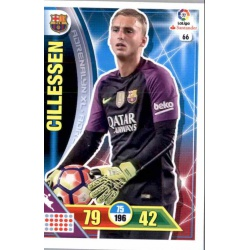 Cillessen Barcelona 66 Adrenalyn XL La Liga 2016-17