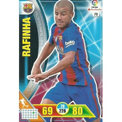 Rafinha Barcelona 70 Adrenalyn XL La Liga 2016-17