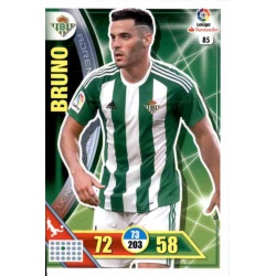 Bruno Betis 85 Adrenalyn XL La Liga 2016-17
