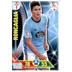 Roncaglia Celta 94 Adrenalyn XL La Liga 2016-17