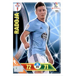 Radoja Celta 105 Adrenalyn XL La Liga 2016-17