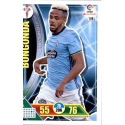 Bongonda Celta 108 Adrenalyn XL La Liga 2016-17