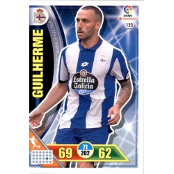 Guilherme Deportivo 123 Adrenalyn XL La Liga 2016-17