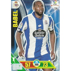Babel Deportivo 126 Adrenalyn XL La Liga 2016-17