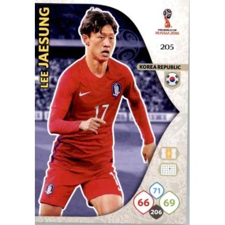 Lee Jae-Sung Corea del Sur 205 Adrenalyn XL Russia 2018