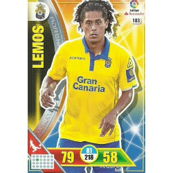 Lemos Las Palmas 183 Adrenalyn XL La Liga 2016-17