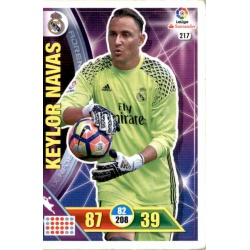 Keylor Navas Real Madrid 217 Adrenalyn XL La Liga 2016-17