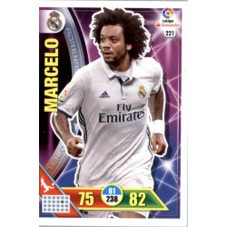Marcelo Real Madrid 221 Adrenalyn XL La Liga 2016-17