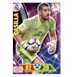 Casilla Real Madrid 228 Adrenalyn XL La Liga 2016-17