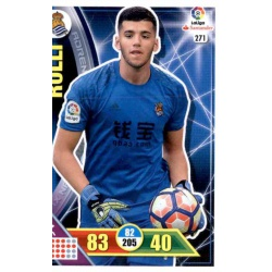 Rulli Real Sociedad 271 Adrenalyn XL La Liga 2016-17