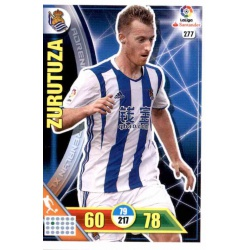Zurutuza Real Sociedad 277 Adrenalyn XL La Liga 2016-17