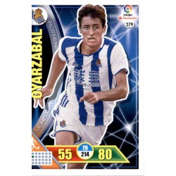 Oyarzabal Real Sociedad 279 Adrenalyn XL La Liga 2016-17