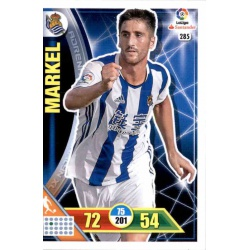 Markel Real Sociedad 285 Adrenalyn XL La Liga 2016-17