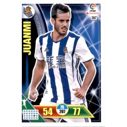 Juanmi Real Sociedad 287 Adrenalyn XL La Liga 2016-17