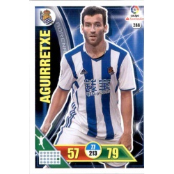 Aguirretxe Real Sociedad 288 Adrenalyn XL La Liga 2016-17