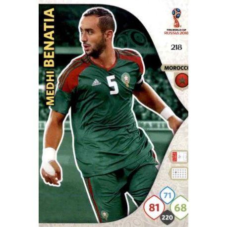 Medhi Benatia Marruecos 218 Adrenalyn XL World Cup 2018