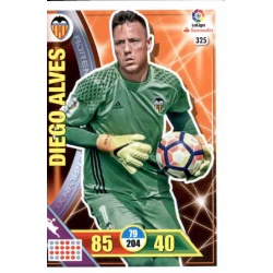 Diego Alves Valencia 325 Adrenalyn XL La Liga 2016-17