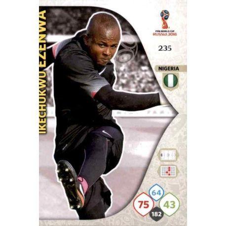 Ikechukwu Ezenwa Nigeria 235 Adrenalyn XL Russia 2018