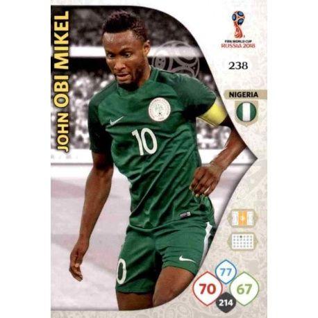 John Obi Mikel Nigeria 238