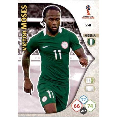 Victor Moses Nigeria 241 Adrenalyn XL World Cup 2018