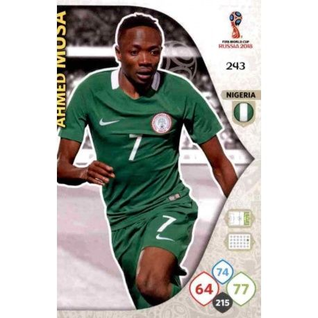 Ahmed Mus Nigeria 243 Adrenalyn XL World Cup 2018