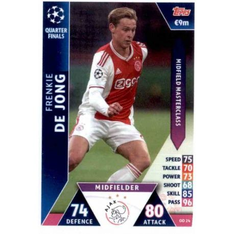 Frenkie De Jong Ajax OD24 Match Attax On Demand