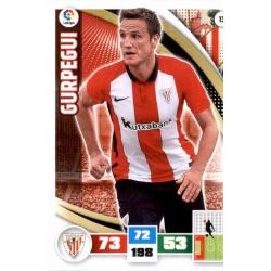 Gurpegui Athletic Club 13 Adrenalyn XL La Liga 2015-16