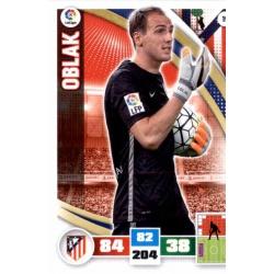 Oblak Atlético Madrid 19 Adrenalyn XL La Liga 2015-16