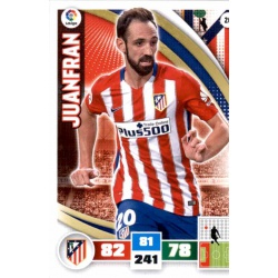 Juanfran Atlético Madrid 20 Adrenalyn XL La Liga 2015-16