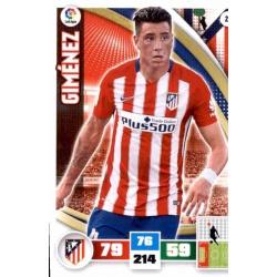 Giménez Atlético Madrid 21 Adrenalyn XL La Liga 2015-16