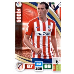 Godín Atlético Madrid 22 Adrenalyn XL La Liga 2015-16