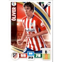 Oliver Atlético Madrid 27 Adrenalyn XL La Liga 2015-16
