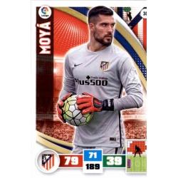 Moya Atlético Madrid 30 Adrenalyn XL La Liga 2015-16